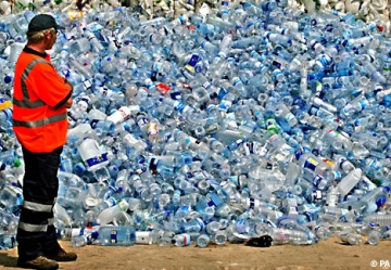 Low recycling rates for plastic bottles
